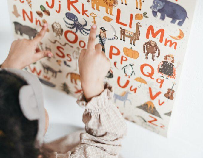 Dziecko i alfabet