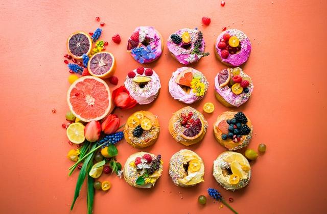Pączki z owocami